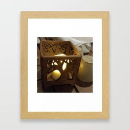 Center piece Framed Art Print