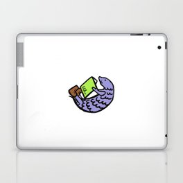 pangolin reading Laptop & iPad Skin