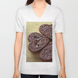 Good luck cookies Unisex V-Neck