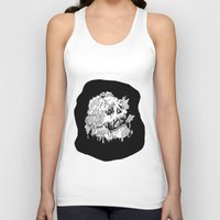 mushrooms Tank Tops featuring Mushrooms by Sam Dean Lynn