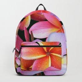 Pink Plumerias Backpack
