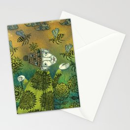 The Beekeeper Stationery Cards