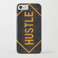 "hustle iPhone & iPod Cases featuring HUSTLE by ""dfrnt"""