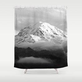 Marvelous Mount Rainier Shower Curtain