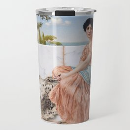 In the Days of Sappho Travel Mug
