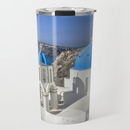 Santorini, Oia Village, Greece Travel Mug