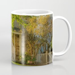 The Stone Cottage On A Spring Evening Coffee Mug