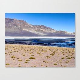 Altiplano Salt Lake Canvas Print