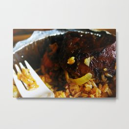 Good Mood Food Metal Print