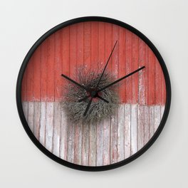 King Street Wreath Wall Clock