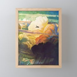 Catmota - N.C. Wyeth Framed Mini Art Print