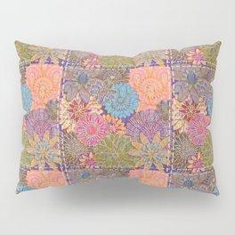 Flower Garden Quilt Pillow Sham