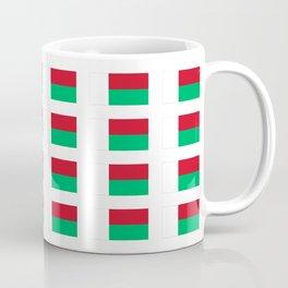 Flag of Madagascar -Malagasy,Madagasikara,Malgache,Bantu,Merina,Antananarivo. Coffee Mug