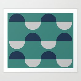 Coastal Waves Art Print