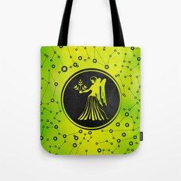 Virgo Zodiac Sign Earth element Tote Bag