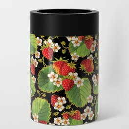 Strawberries Botanical Can Cooler