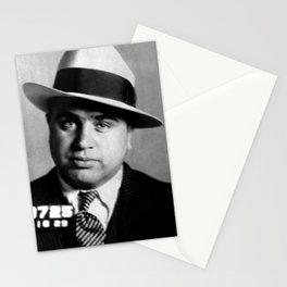 Al Capone Stationery Cards