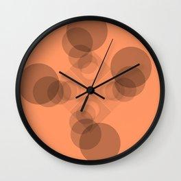 Four Peach Clan Warriors Wall Clock