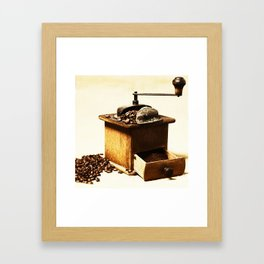 coffee grinder 5 Framed Art Print