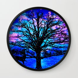 TREE ENCOUNTER Wall Clock