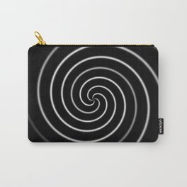 Licorice Swirl Carry-All Pouch