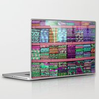 fabric Laptop & iPad Skins featuring FABRIC by Louisa Rogers