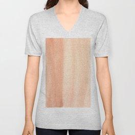 151208 2.Burnt Sienna Unisex V-Neck