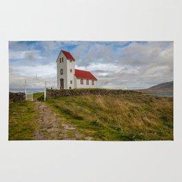 Chapel of Iceland Rug