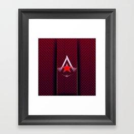 creed assassins Framed Art Print