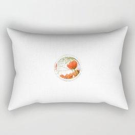 Subtly Flourishing - Circle Rectangular Pillow