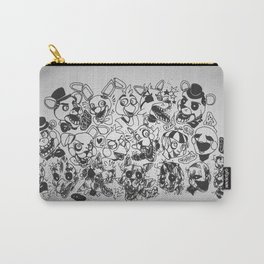 The gang's all here - Five Nights At Freddy's Carry-All Pouch