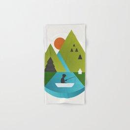 Fishing Trip Hand & Bath Towel