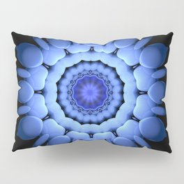 Blue Lotus Pillow Sham