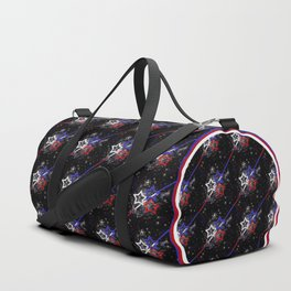 Stars and Stripes Diameter Duffle Bag