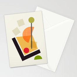 Cocktail III Old Fashioned Stationery Cards