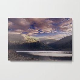 Dawn in the Valley Metal Print