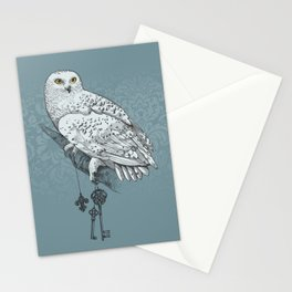Secrets of the Snowy Owl Stationery Cards