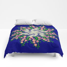 Mandala #103, Wheat, Symbol of Life Comforters