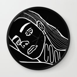 She's a Cool Girl Wall Clock