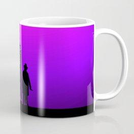 Tardis With The Fourth Doctor Coffee Mug