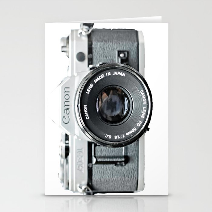 Vintage Camera Phone Stationery Cards