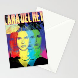 lana del ray rainbow 2021 Stationery Cards