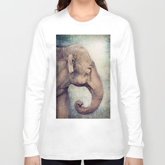 The smiling Elephant Long Sleeve T-shirt