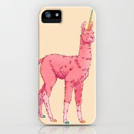 Llamacorn iPhone Case