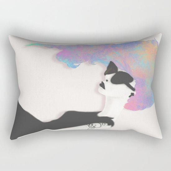 Modern Society Rectangular Pillow