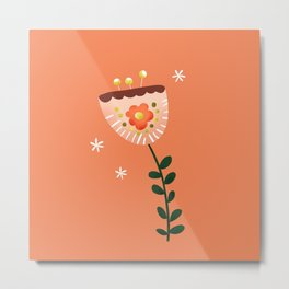 Just a pretty flower illustration no2 Metal Print