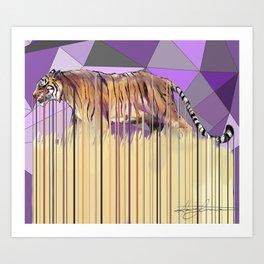 Tiger Disambiguation Art Print