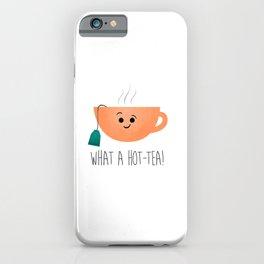 What A Hot-Tea iPhone Case