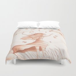 Letters From Heaven  Duvet Cover