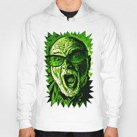 scream Hoodies featuring SCREAM! by Silvio Ledbetter